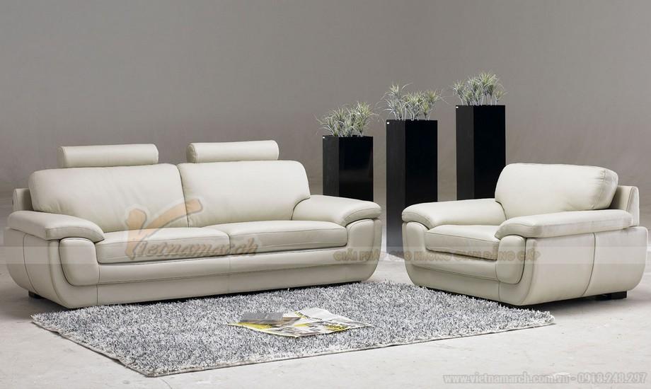 Cách lựa chọn ghế sofa phòng khách chung cư diện tích 10 - 15m2 - 01