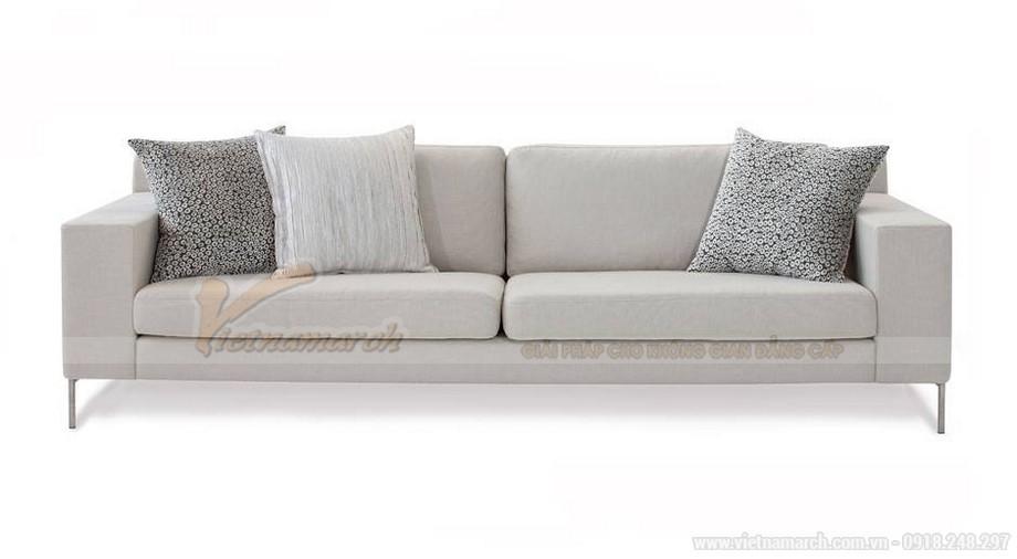 Cách lựa chọn ghế sofa phòng khách chung cư diện tích 10 - 15m2 - 02