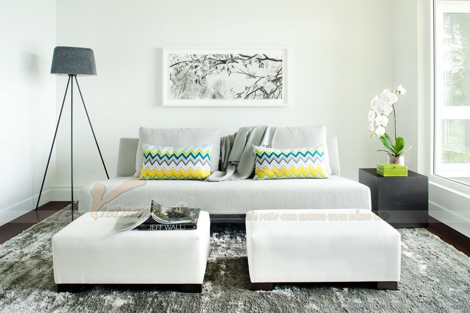 Cách lựa chọn ghế sofa phòng khách chung cư diện tích 10 - 15m2 - 05