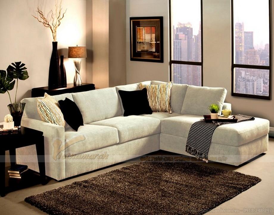 Cách lựa chọn ghế sofa phòng khách chung cư diện tích 10 - 15m2 - 06