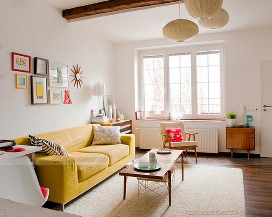 Tổng hợp mẫu trần thạch cao đẹp đơn giản cho phòng khách-01