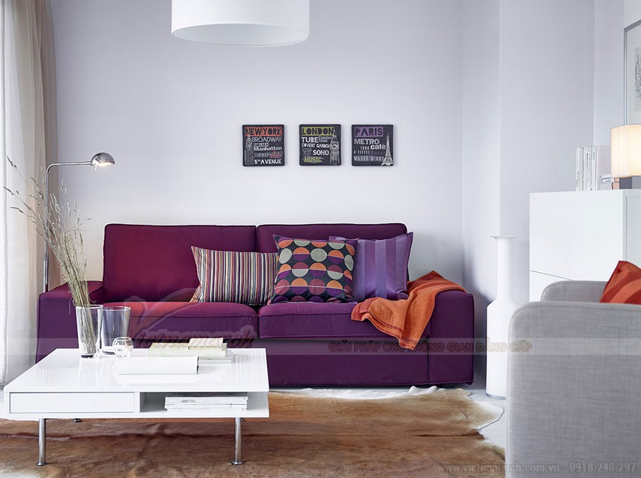 Cách lựa chọn ghế sofa phòng khách chung cư diện tích 10 - 15m2 - 08