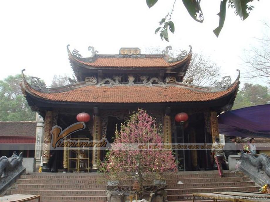 tổng quan kiến trúc cổ đền Bà Chúa Kho.