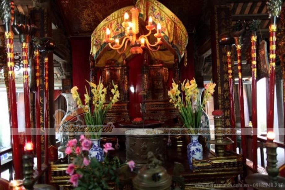 bài vị thờ Thượng Đẳng Thiên Vương và Hoàng Phi Bạch Tỉnh Cung.