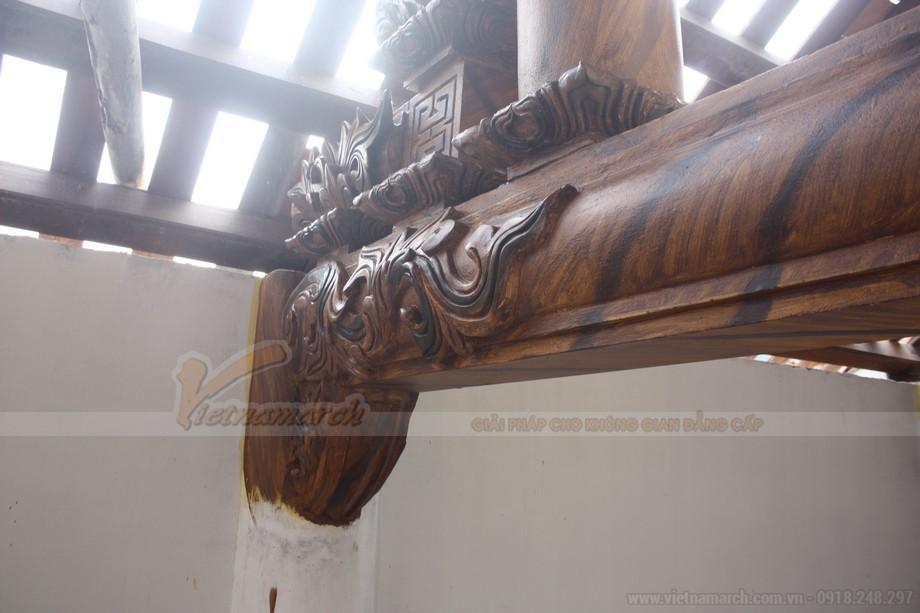 Vân gỗ được tạo một cách tự nhiên chông thật nhất có thể