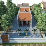 Phương án cải tạo nhà thờ họ – nhà thờ chữ Công cho nhà chú Thái  – Bắc Ninh