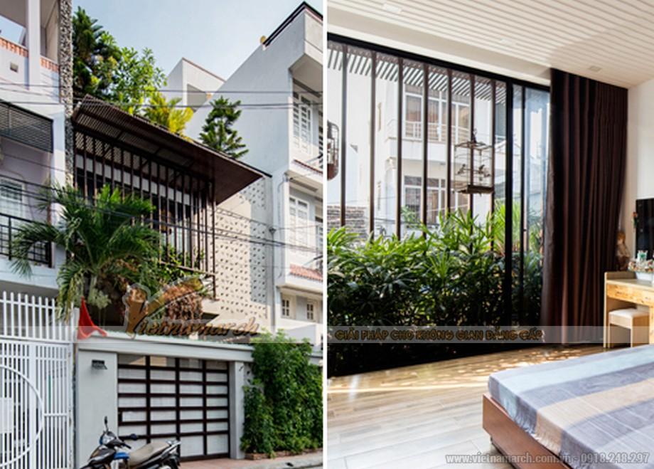 Thiết kế xanh cách ly căn nhà Nha Trang khỏi phố chợ ồn ào