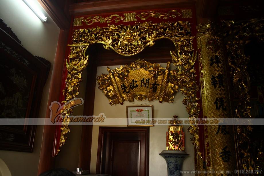 Nét trang trí tỉ mỉ nội thất bên trong nhà thờ