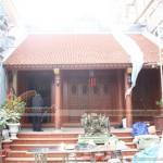 Thi công xây dựng nhà thờ họ 3 gian, 2 mái tại Ninh Bình