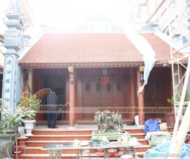Thi công xây dựng nhà thờ họ tại Ninh Bình