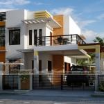 Mẫu biệt thự phố 2 tầng hiện đại thiết kế cho nhà anh An tại Lạng Sơn