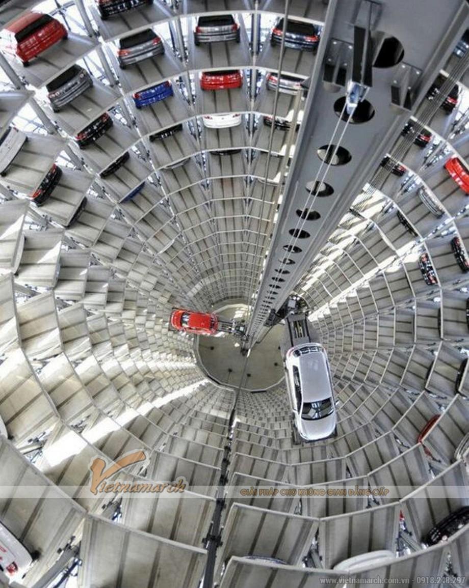 Bãi đỗ xe thông minh - giải pháp điểm đỗ xe an toàn, thông minh-02