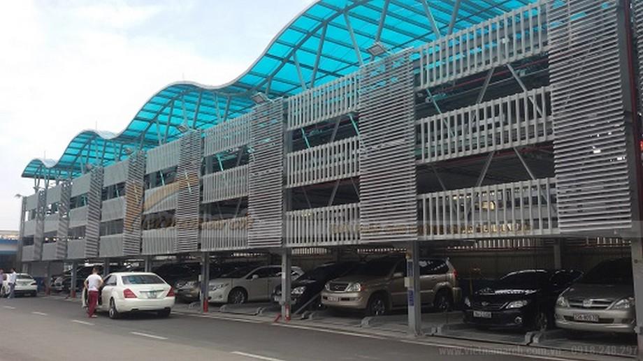 Hiệu quả sau hơn 1 năm đưa vào sử dụng bãi đỗ xe cao tầng Trần Nhật Duật-02