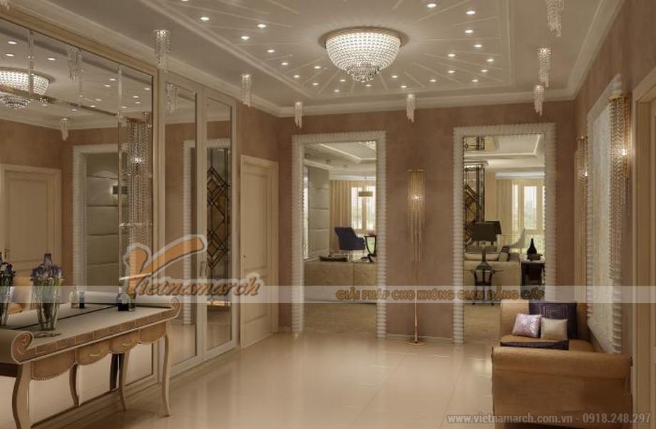 Thiết kế nội thất biệt thự tân cổ điển tại Lạng Sơn 05