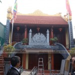Thi công xây dựng nhà thờ họ 2 tầng tại Bắc Giang