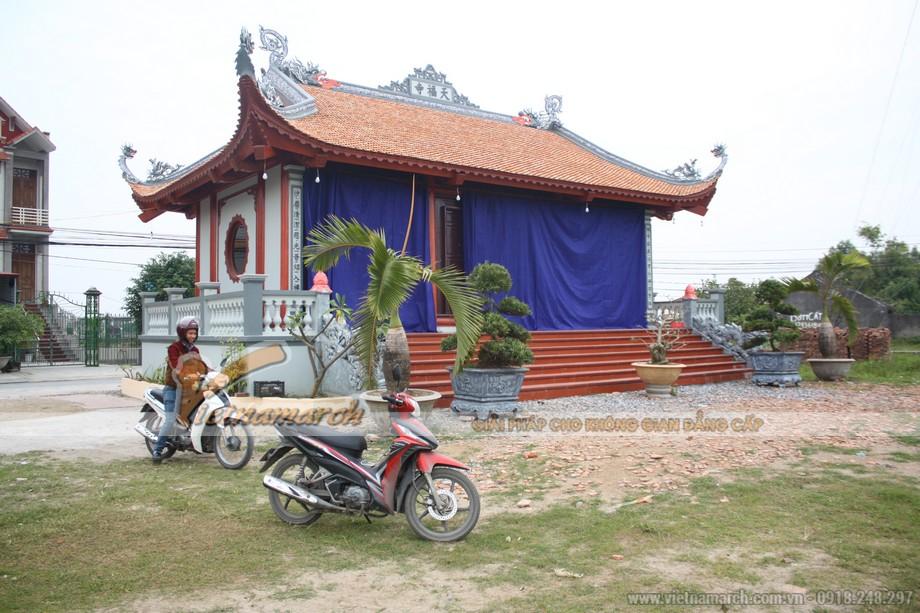 Tổng quan ngôi nhà thờ 4 mái cong đầu rồng nhà bác Đạo tại Hải Dương