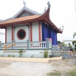 Hoàn thiện thi công nhà thờ họ 4 mái cho nhà bác Đạo tại Hải Dương