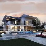 Thiết kế biệt thự 2 tầng hiện đại, có bể bơi tại Nha Trang