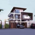 Phương án thiết kế biệt thự 3 tầng hiện đại cho anh Hồng – Hà Tĩnh
