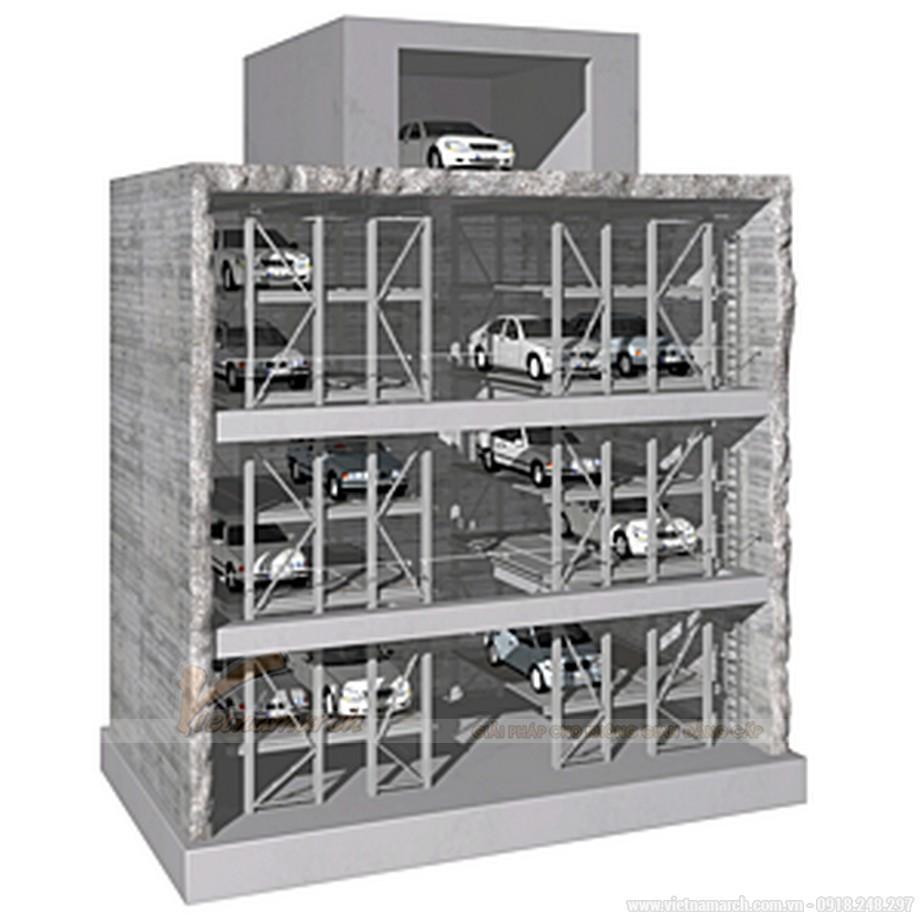 Thiết kế gara đỗ xe cao tầng cho các tòa chung cư-cao ốc-01