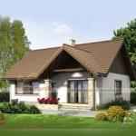 Thiết kế nhà cấp 4 mái thái đẹp, chi phí xây dựng thấp cho nhà anh Long – Nghệ An