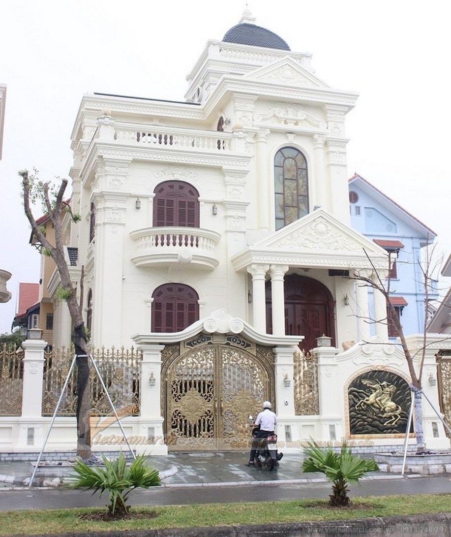 Toàn cảnh tòa lâu đài nguy nga, tráng lệ nhất Quảng Ninh