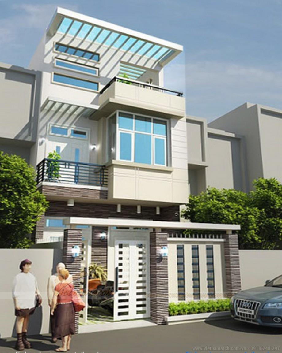 Tổng hợp 15 mẫu nhà phố 3 tầng cực đẹp, mặt tiền chưa đầy 5m-12
