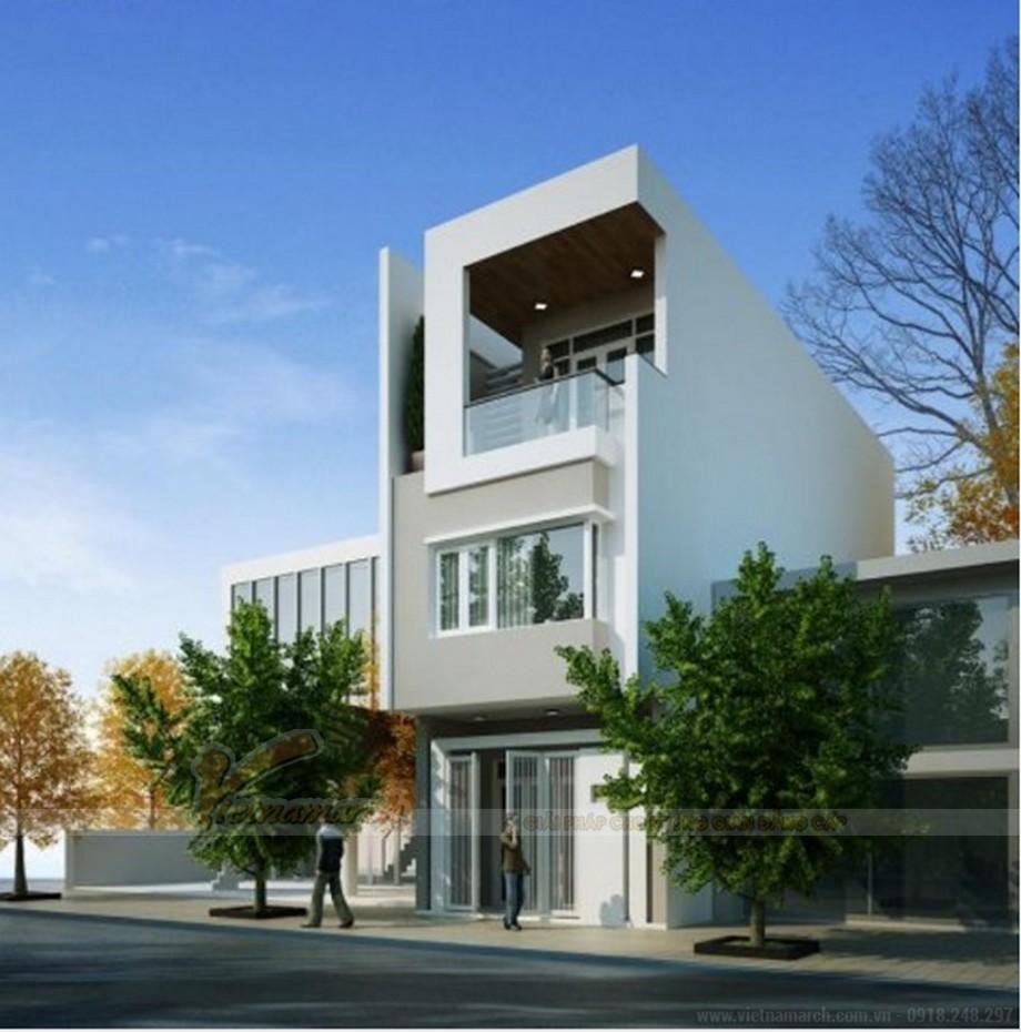 Tổng hợp 15 mẫu nhà phố 3 tầng cực đẹp, mặt tiền chưa đầy 5m-03