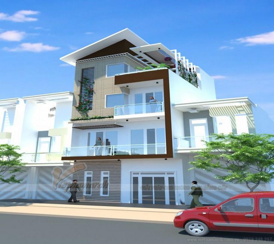 Tổng hợp 15 mẫu nhà phố 3 tầng cực đẹp, mặt tiền chưa đầy 5m-15