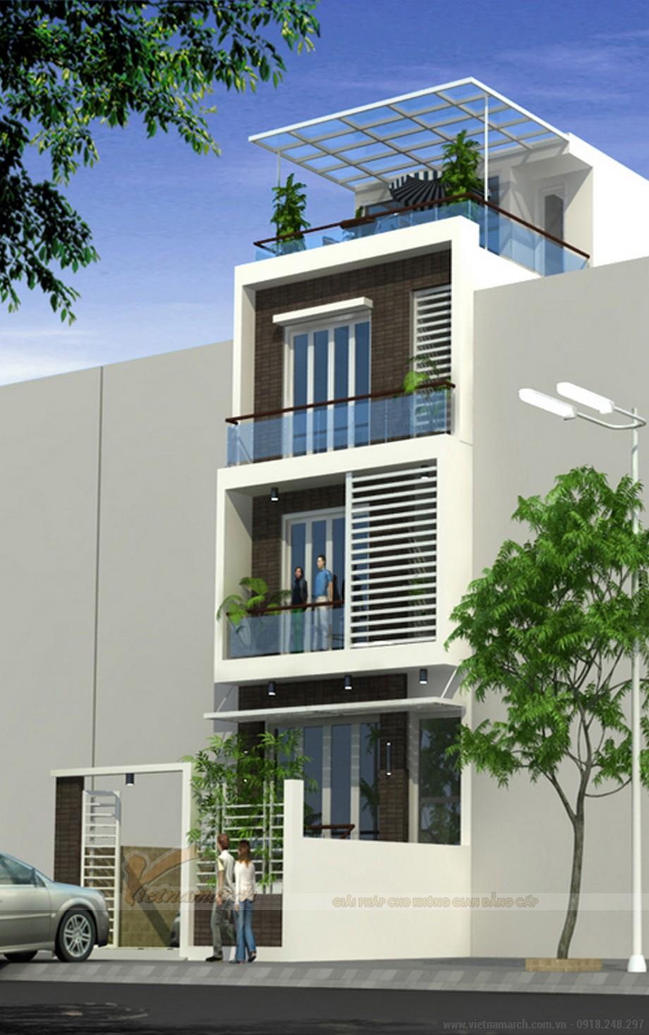 Tổng hợp 15 mẫu nhà phố 3 tầng cực đẹp, mặt tiền chưa đầy 5m-10