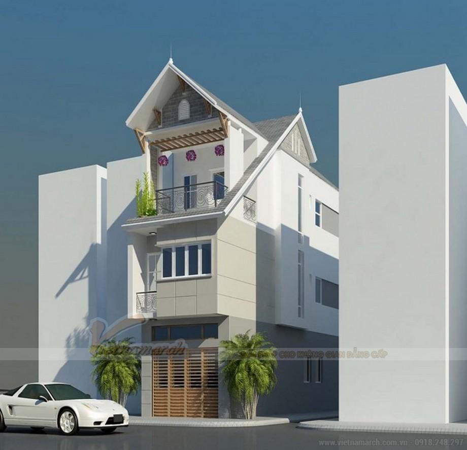 Tổng hợp 15 mẫu nhà phố 3 tầng cực đẹp, mặt tiền chưa đầy 5m-04