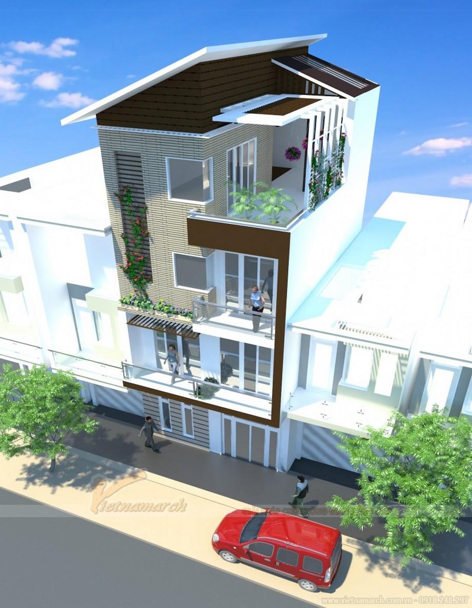 Tổng hợp 15 mẫu nhà phố 3 tầng cực đẹp, mặt tiền chưa đầy 5m-05