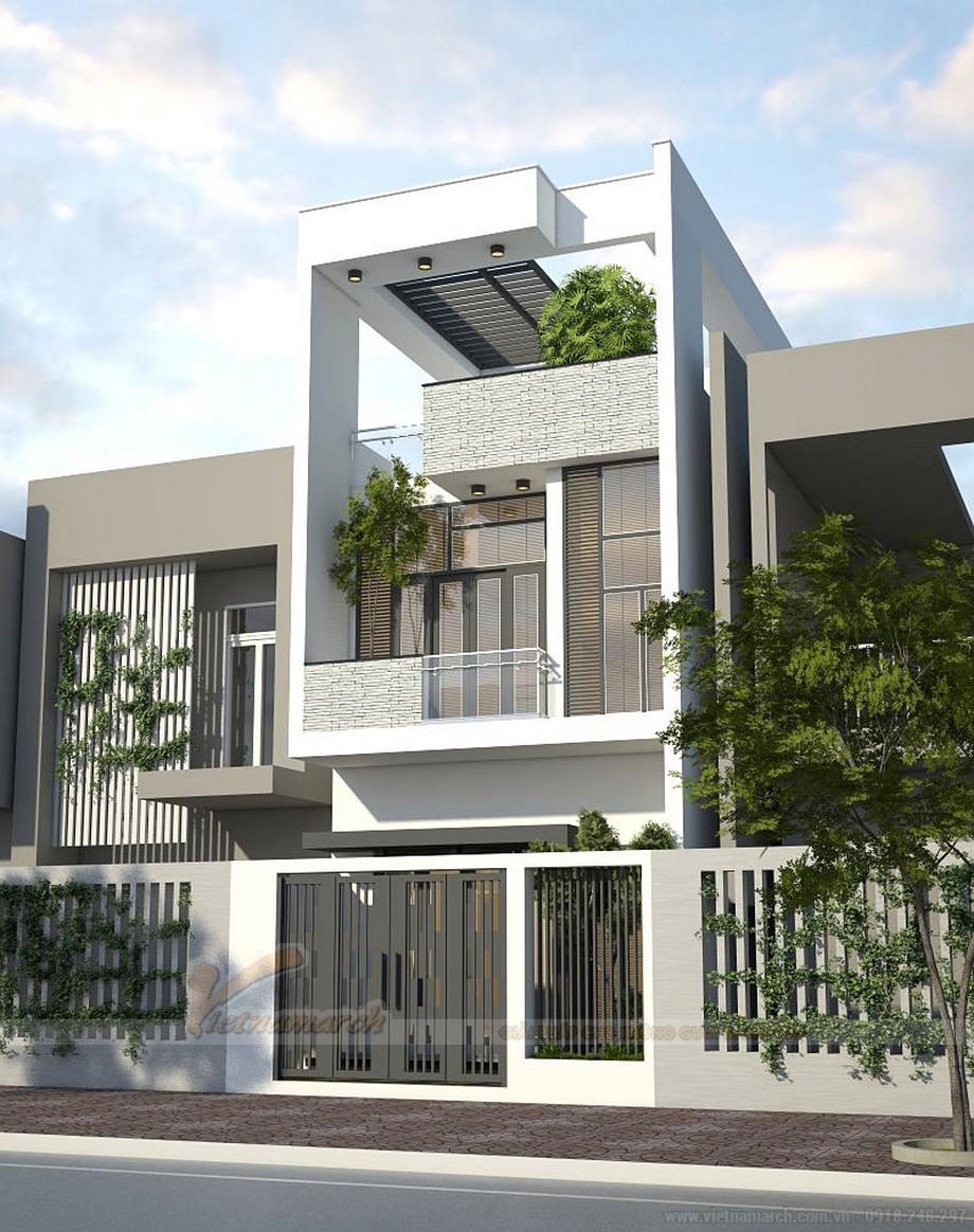 Tổng hợp 15 mẫu nhà phố 3 tầng cực đẹp, mặt tiền chưa đầy 5m-11