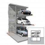 Hệ thống đỗ xe bán tự động MultiBase 2072i