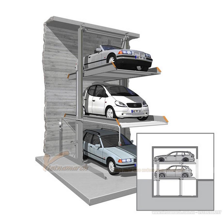 Hệ thống bãi đậu xe singleup 3015