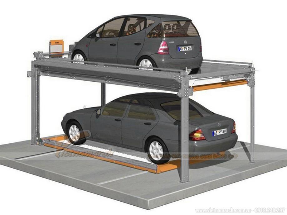 Hệ thống đỗ xe bán tự động Trend Vario 4000