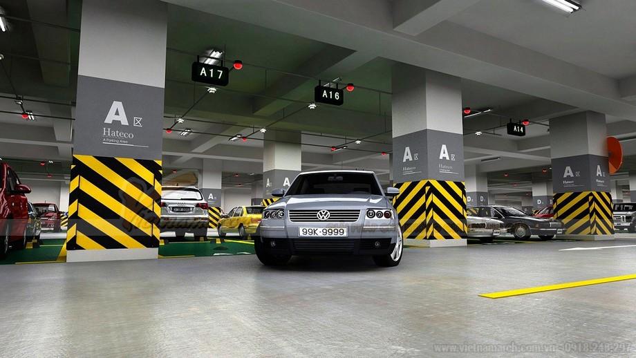 Ứng dụng của hệ thống đỗ xe Multibase U1 cho nhà ở thương mại