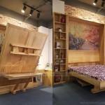 Mẫu nội thất thông minh 3 trong 1, kết hợp tủ, giường, bàn học ấn tượng