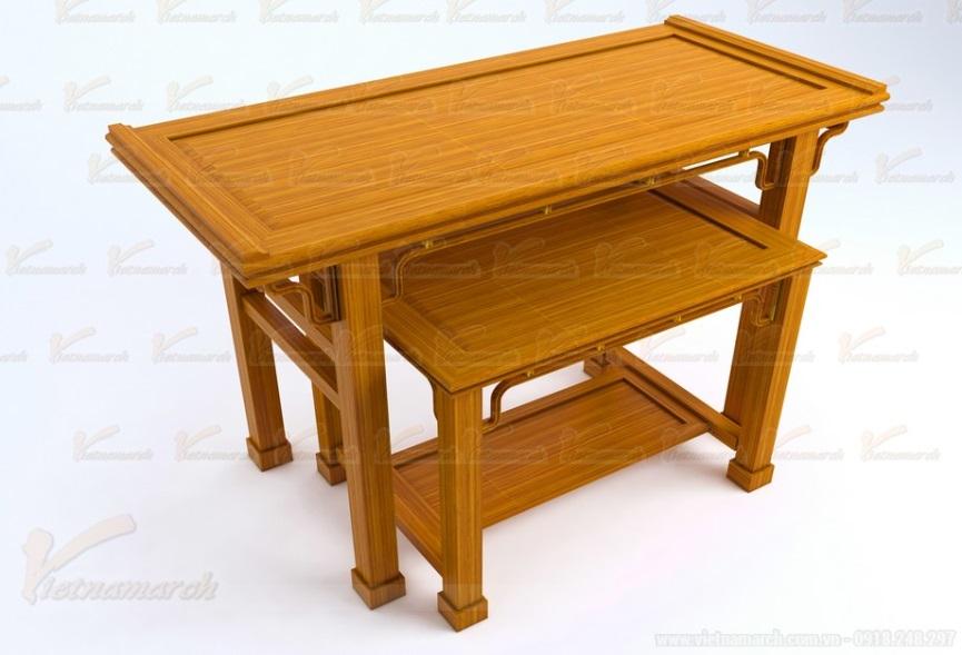 Mẫu bàn thờ đứng
