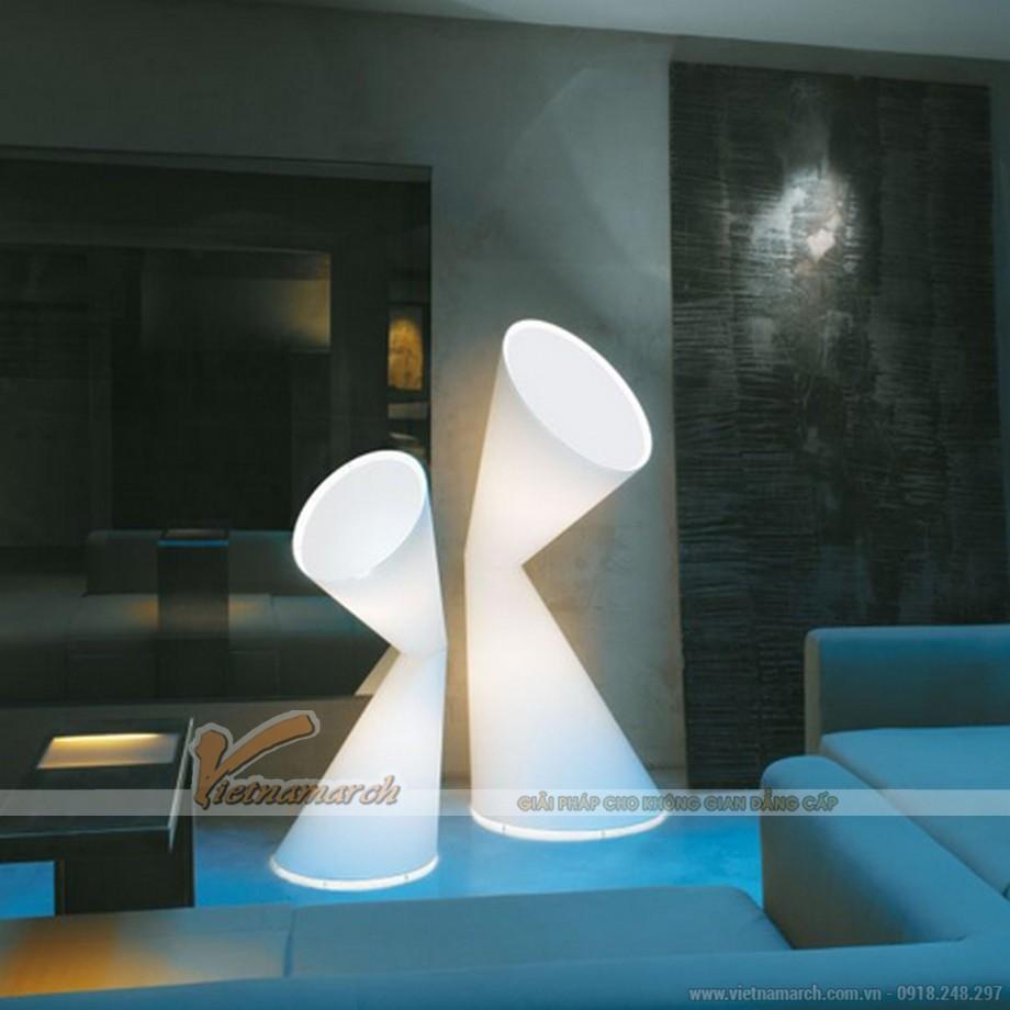 Những mẫu đèn lạ mắt cho không gian phòng khách
