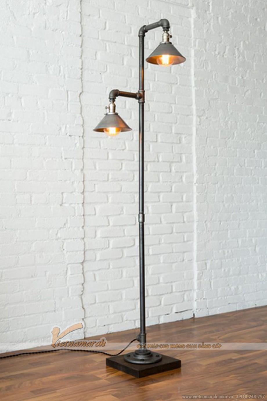 mẫu đèn trang trí phòng khách lấy ý tưởng từ những vòi nước