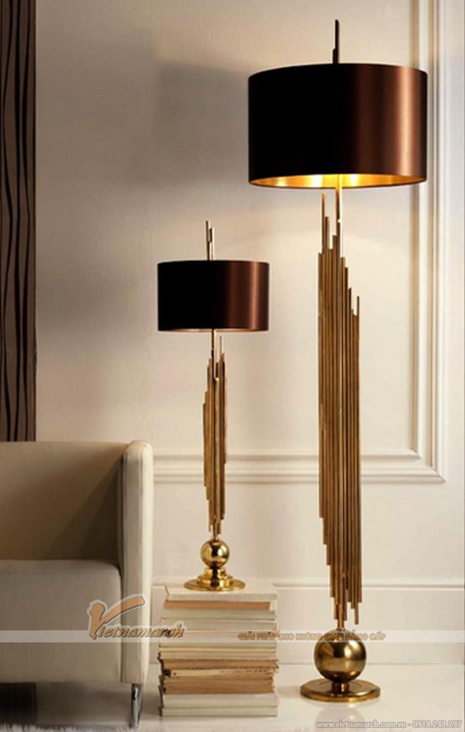 Mẫu đèn trang trí sang trọng cho phòng khách