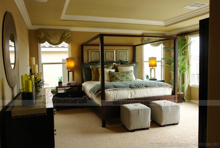 Mẫu phòng ngủ Master thiết kế hiện đại dành riêng cho biệt thự Hoa Anh Đào-03