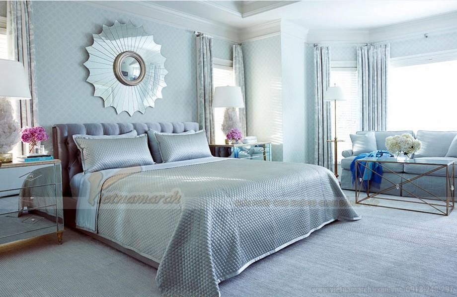 Mẫu phòng ngủ Master thiết kế hiện đại dành riêng cho biệt thự Hoa Anh Đào-01