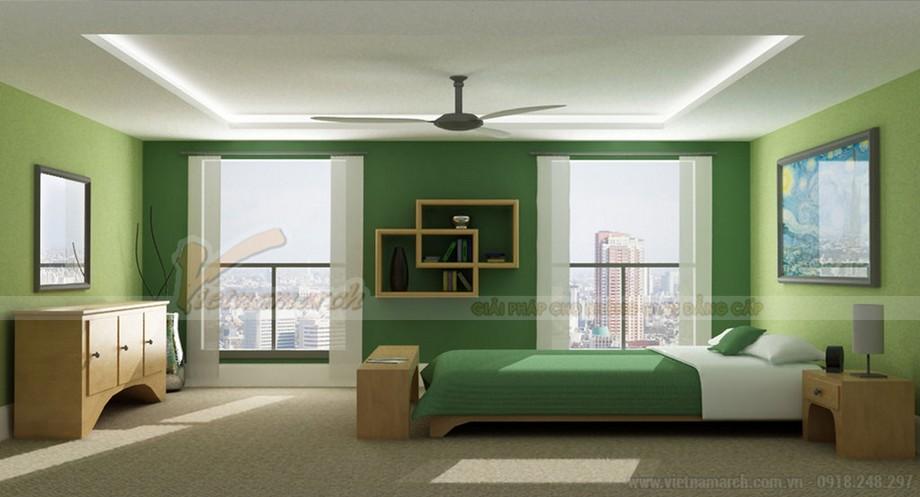 Mẫu phòng ngủ Master thiết kế hiện đại dành riêng cho biệt thự Hoa Anh Đào-04
