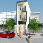 Thiết kế kiến trúc, nội thất cho nhà ống mặt tiền 4m cho nhà anh Hòa tại Hưng Yên
