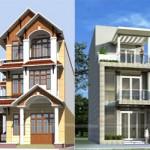 Tổng hợp 15 mẫu nhà phố 3 và 4 tầng cực đẹp, mặt tiền chưa đầy 5m