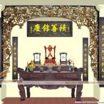 Bố trí bàn thờ Gia Tiên theo truyền thống – Thuận phong thủy – Phần 1.