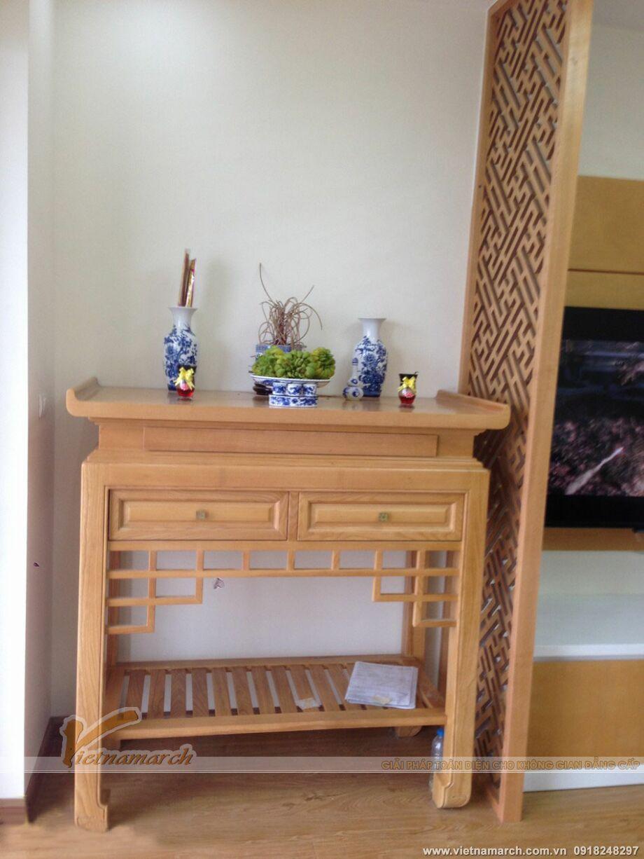 Mẫu bàn thờ hiện đại phù hợp cho các căn hộ chung cư