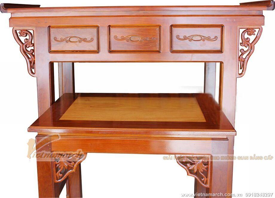 Mẫu bàn thờ hiện đại - Với đường nét thanh tao, nhẹ nhàng